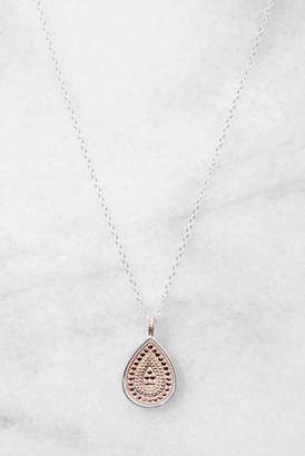 Anna Beck Rose Gold Teardrop Necklace