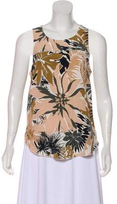 Rag & Bone Silk Sleeveless Top
