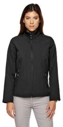 Ash City - Core 365 Ladies' Cruise Two-Layer Fleece Bonded Soft Shell Jacket - BLACK 703 - 2XL 78184