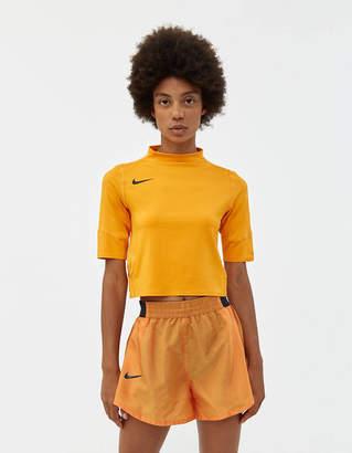 Nike W NK Short Sleeve Top in Orange