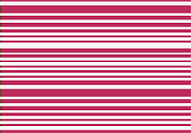 DwellStudio Thin Stripe Fuschia Sheet Set