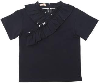Marni Junior Cotton Sweat T-Shirt