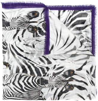 Marc Cain zebra print scarf