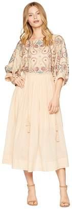 Free People Mesa Midi Dress Women's Dress