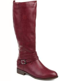 Brinley Co. Womens Comfort Strap Riding Boot