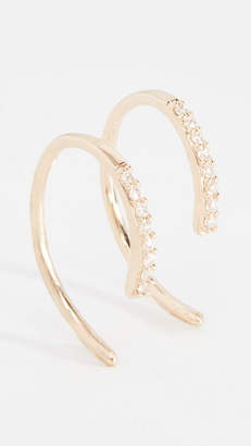 Lana Diamond Hooked On Hoop Earrings