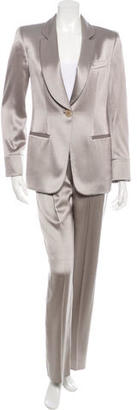 Giorgio Armani Silk High-Waisted Pantsuit $395 thestylecure.com