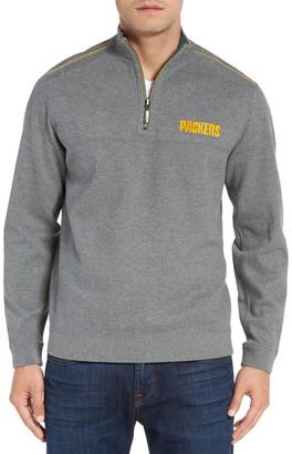 Tommy Bahama 'NFL Flipside Pro' Quarter Zip Pullover $148 thestylecure.com