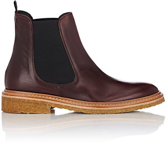 Barneys New York Women's Leather Chelsea Boots $395 thestylecure.com