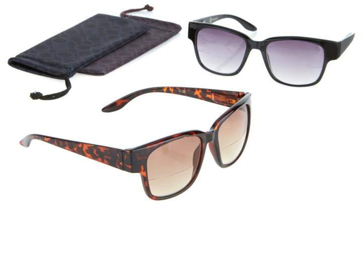 Joy Mangano JOY 4-piece SHADES Readers Classic Design Bifocal Sunglasses