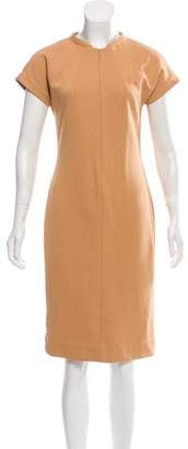 Diane von Furstenberg Crew Neck Knee-Length Dress