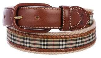 Burberry Canvas Waist Belt