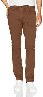 Hudson Men's Blake Slim Straight Zip Fly Twill