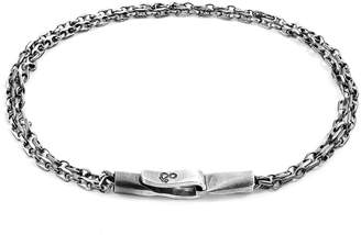ANCHOR & CREW - Silver Mainsail Single Sail Chain Bracelet