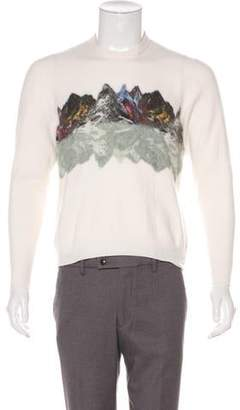 Etro Wool Crew Neck Sweater