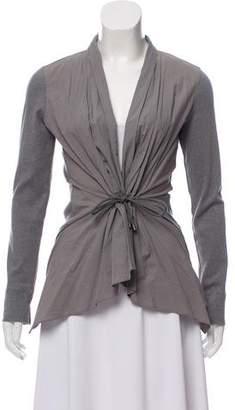 Brunello Cucinelli Gathered Knit Vest