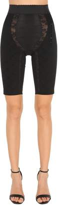 Dolce & Gabbana Stretch & Satin Cycling Style Shorts