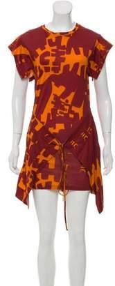 Isabel Marant Printed Mini Wrap Dress