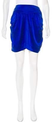 Myne Silk Mini Skirt w/ Tags