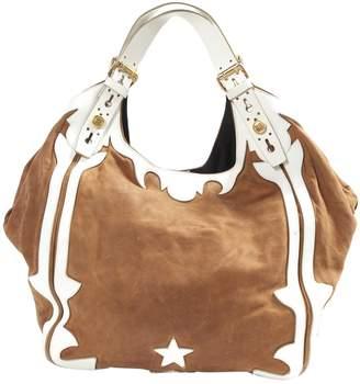 Givenchy Camel Suede Handbag