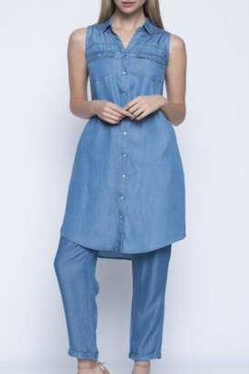 Picadilly Blue Denim Dress
