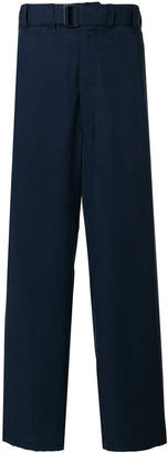 Lemaire high-waisted belted trousers