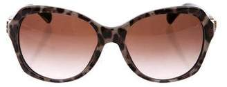 Dolce & Gabbana Printed Oversize Sunglasses