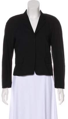 Dries Van Noten Notch-Lapel Cropped Blazer