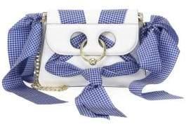J.W.Anderson White Mini Pierce Bag