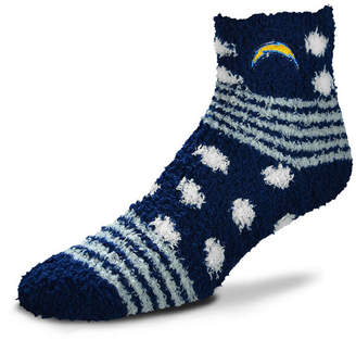 For Bare Feet Los Angeles Chargers Homegater Sleep Soft Socks