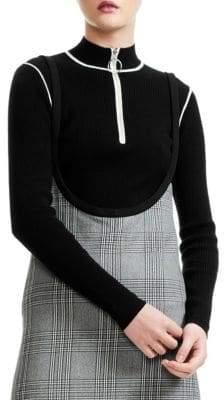 Maje Zip Sweater