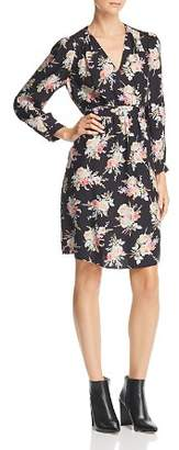 Rebecca Taylor Bouquet Floral-Silk Dress