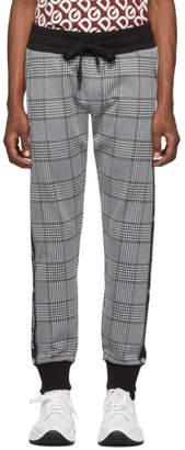 Dolce & Gabbana Black Rossi-Bordeaux Lounge Pants