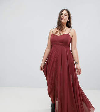 Olsen Religion Plus Maxi Cami Dress