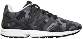 Zx Flux Camo Printed Nylon Sneakers $76 thestylecure.com