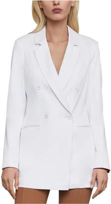 BCBGMAXAZRIA Notched-Collar Blazer