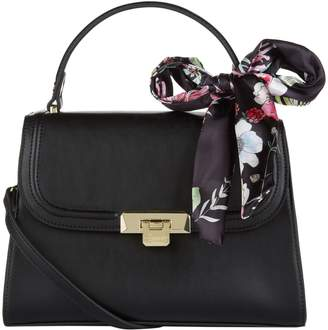 Harrods Alice Bag with Floral Scarf