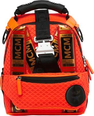 MCM Jemison 2-in-1 Backpack In Mesh