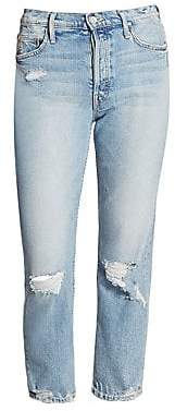 Mother Women's Tomcat Distressed Wash Jeans