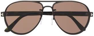 Tom Ford aviator shaped sunglasses