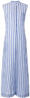 Aspesi sleeveless seersucker dress