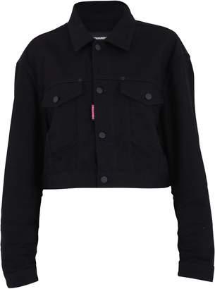 DSQUARED2 Black Cropped Jacket