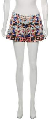 Mary Katrantzou Printed Mini Shorts