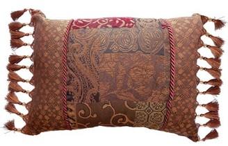 "Croscill Home Fashions Galleria Polyfill 20"" x 15"" Pillow Cover & Insert Home Fashions"