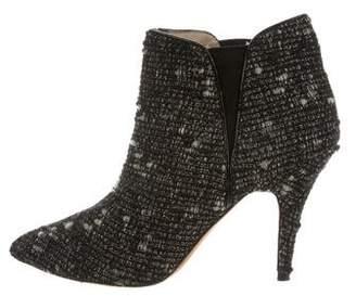 Jean-Michel Cazabat Tweed Ankle Boots