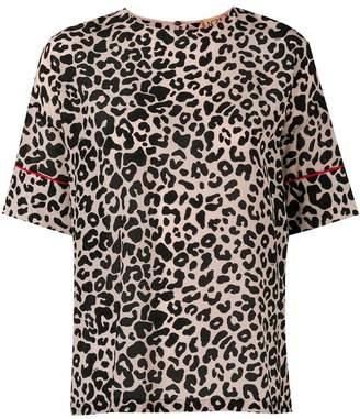 No.21 leopard print blouse