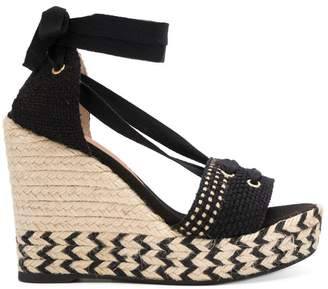 Castaner high wedge heel sandals