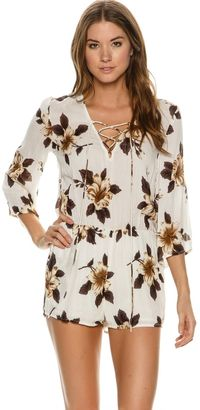 O'neill Neri Sleeved Romper $59.45 thestylecure.com