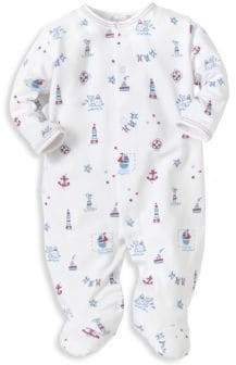 Kissy Kissy Baby's Nautical-Print Footie