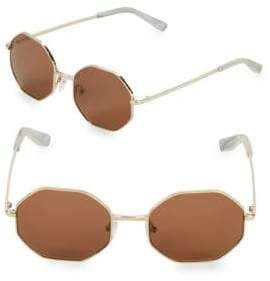 Elizabeth and James 53MM Hexagon Sunglasses
